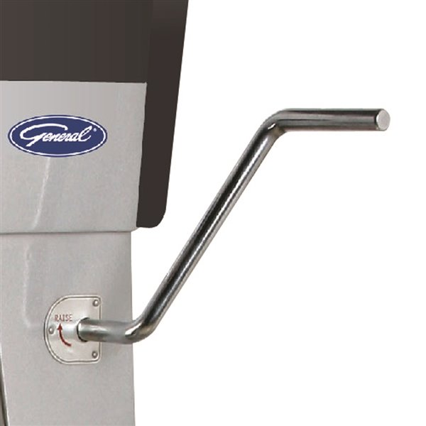 General Commercial Stand Mixer - 28.4-L - 3-Speed - Stainless Steel