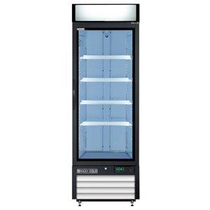 Réfrigérateur commercial X Series Maxx Cold, 23 pi³, blanc