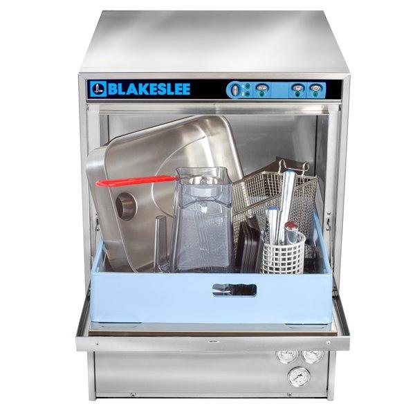 Blakeslee Commercial Built-In Dishwasher - 30-Racks per Hour - Stainless Steel