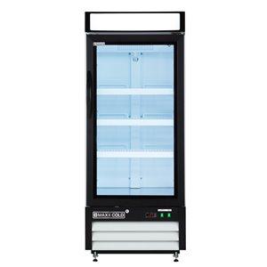 Réfrigérateur commercial X Series Maxx Cold, 12 pi³, blanc
