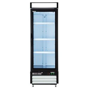 Réfrigérateur commercial X Series Maxx Cold, 16 pi³, blanc
