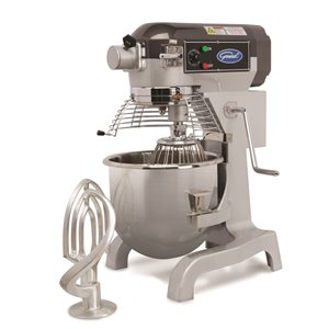 General Commercial Stand Mixer - 18.9-L - 3-Speed - Stainless Steel