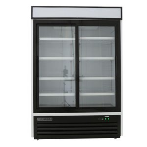Maxx Cold X Series Commercial Refrigerator - 2 Sliding Doors - 48-cu ft - White