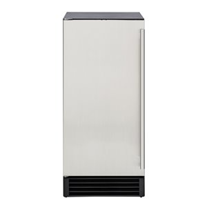 Maxx Ice Freestanding/Undercounter Ice Maker - 50-lb - Stainless Steel