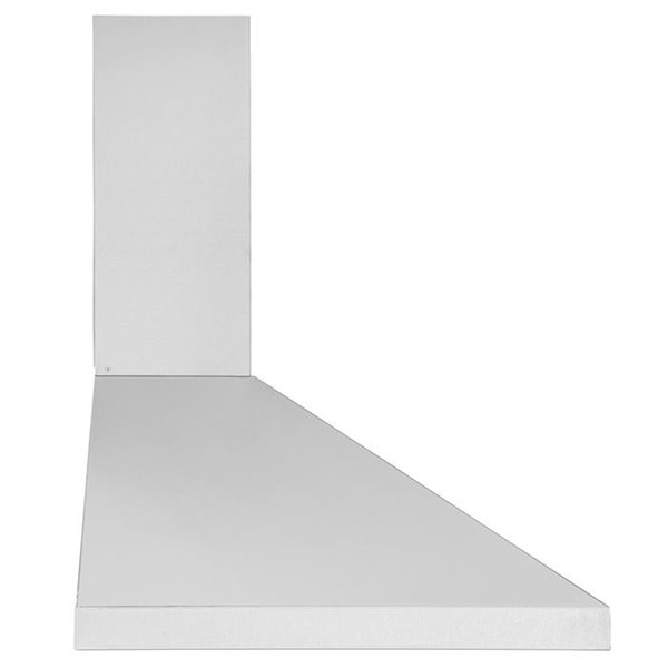 Ancona 30-in Convertible Wall-Mounted Pyramid Range Hood - 440 CFM - Stainless Steel