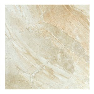 Mono Serra Porcelain Tile 24-in x 24-in Manhattan Sand 11.63 sq. ft. / case (3 pcs / case)
