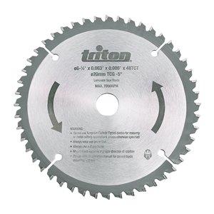 Triton TTS48T 48 Teeth TCG Circular Saw Blade - 6.5-in