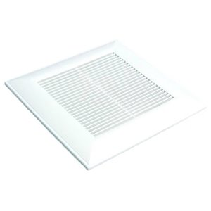 Panasonic Contemporary Replacement Bathroom Grille - 13-in - Square - White
