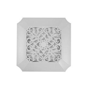 Panasonic Designer Replacement Bathroom Grille - 14.2-in - Square - White