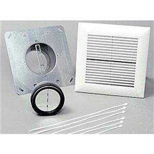 Panasonic WhisperLine Installation Kit for Bathroom - 6-in - Single Inlet