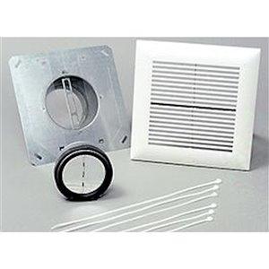 Panasonic WhisperLine Installation Kit for Bathroom - 4-in - Single Inlet