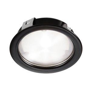 Lumière en rondelle Dainolite 314 lumens, noire, 2,64 po