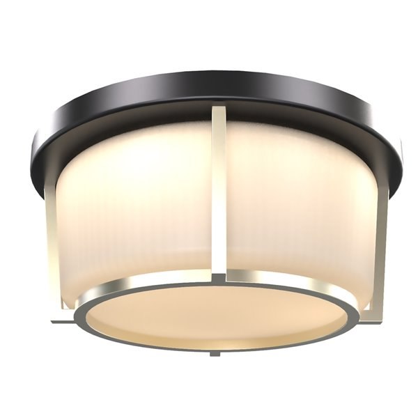 Dvi Jarvis Ac 1 Led Light Contemporary Ceiling Light 10 In Black And Soft Gold Rona