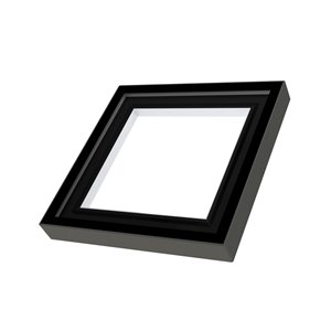Fakro Universal Curb-Mounted Skylight FXC - 22-in x 22-in - Grey