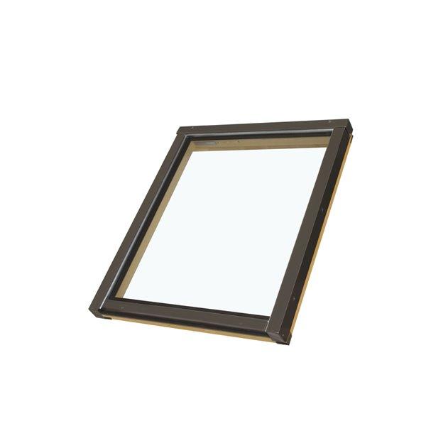 Fakro Fixed Skylight FX - 24-in x 46-in - Grey