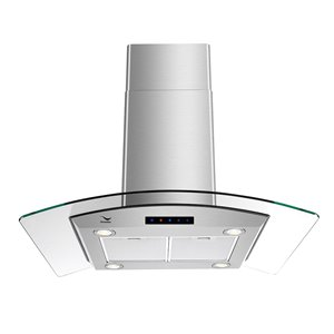 Streamline Convertible Island Range Hood - 36-in - Stainless