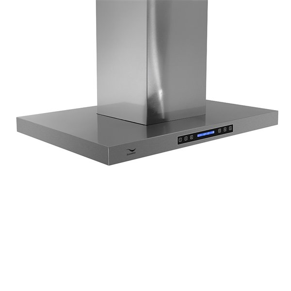 Streamline Ducted Island Kitchen Range Hood - 30-in - Stainless