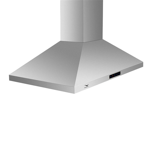 Streamline Ducted Kitchen Island Range Hood - 36-in - Stainless