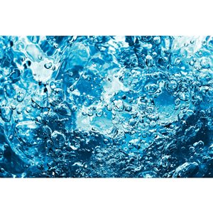 Dimex Sparkling Water Wall Mural - 12-ft 3-in x 8-ft 2-in