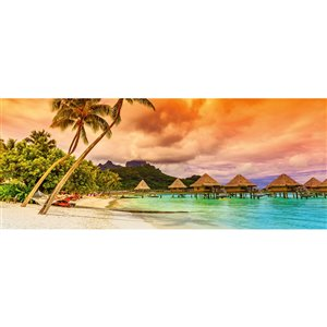 Dimex Polynesia Wall Mural - 12-ft 3-in x 4-ft 9-in