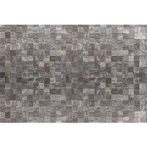 Dimex Tile Wall Wall Mural - 12-ft 3-in x 8-ft 2-in