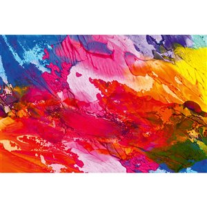 Dimex Abstract Painting Wall Mural - 12-ft 3-in x 8-ft 2-in