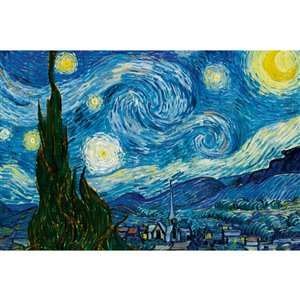 Dimex Starry Night Wall Mural - 12-ft 3-in x 8-ft 2-in