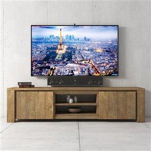 Urban Woodcraft Manila TV Stand - 71-in - Natural Asian Hardwood