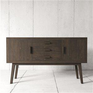 Urban Woodcraft Citation Buffet - 60-in - Pine - Salvaged Espresso