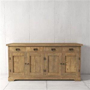Urban Woodcraft Richmond Dining Buffet - 71-in - Asian Hardwood - Natural Teak