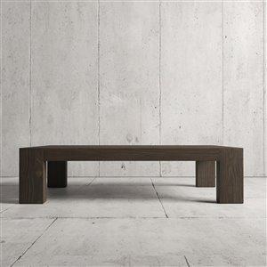 Urban Woodcraft Madison Rectangular Coffe Table - 55-in - Natural Teak