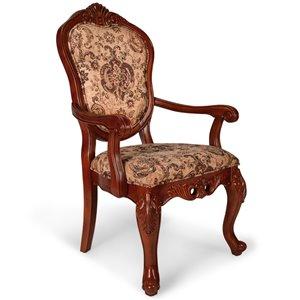 Chaise salle à manger classique All Things Cedar style Victorien, cerise