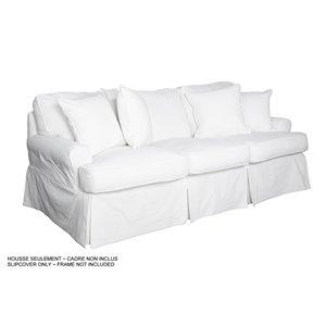 Housse pour sofa Horizon T-Cushion de Sunset Trading, blanc cassé