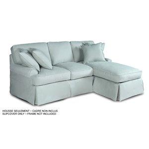 Housse pour sofa et chaise Horizon de Sunset Trading, tissu performance bleu océan