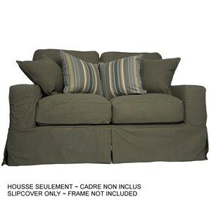Housse pour causeuse Americana Box Cushion de Sunset Trading, vert forêt