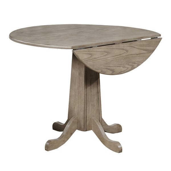 Sunset Trading French Twist Round, 40 Round Pedestal Table