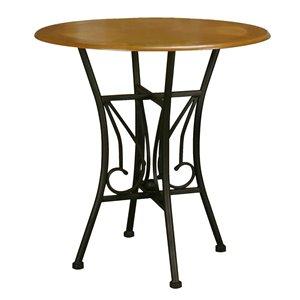 Sunset Trading Dart Pub Table - 42-in - Black