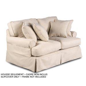 Housse pour causeuse Horizon T-Cushion de Sunset Trading, tissu performance beige