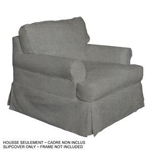 Housse pour chaise Horizon T-Cushion de Sunset Trading, tissu performance gris