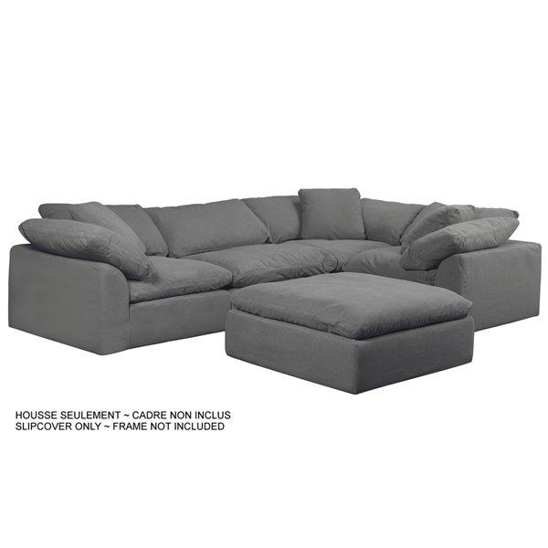 Modular Sectional Sofa, Cloud Sectional Sofa