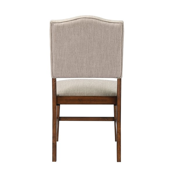 Sunset Trading Simply Brook Upholstered Dining Chair Set Of 2 Brown Rona
