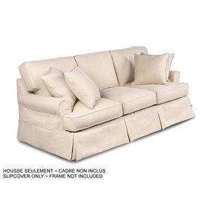 Housse pour sofa Horizon T-Cushion de Sunset Trading, beige
