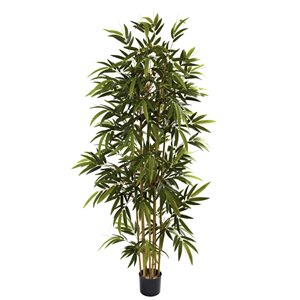 Nearly Natural Bamboo Tree -6-ft - Green