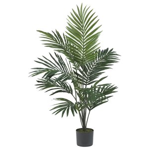 Nearly Natural Kentia Palm Silk Tree - 5-ft - Green