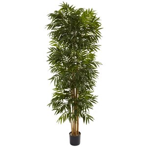 Nearly Natural Phoenix Palm Artificial Tree - 7.5-ft - Green