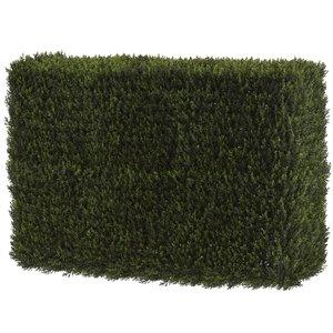 Nearly Natural Cedar Artificial Decorative Hedge - Indoor/Outdoor - 20-in - Green