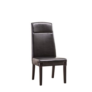 Mazin Industries Modd Traditional Parsons Chair - Black - Set of 2