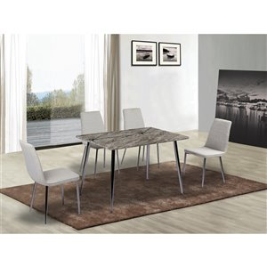 Mazin Industries Shangri-la Traditional Side Chair - N/A - Set of 2