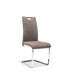 Mazin Industries Normandy Contemporary Side Chair - Gray - Set of 2
