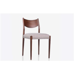 Mazin Industries Ralson Traditional Side Chair - Brown - Set of 2